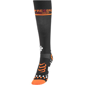 Compressport V2 - Calcetines Running - negro